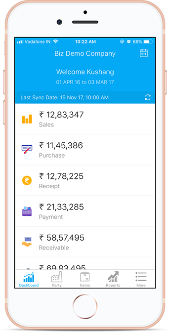 Tally Mobile App for Android iOS | Biz Analyst - Tally ERP9
