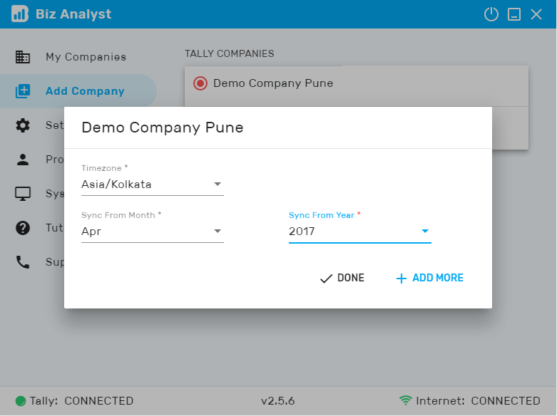 Biz Analyst - Tally ERP9 on Mobile | Tally Mobile App on